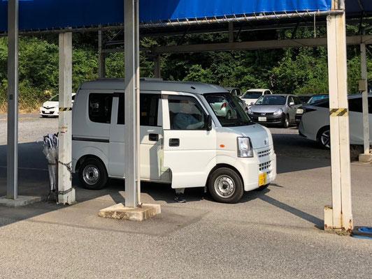 Unsere Every - ein Suzuki Kei-Car mit Campingausbau