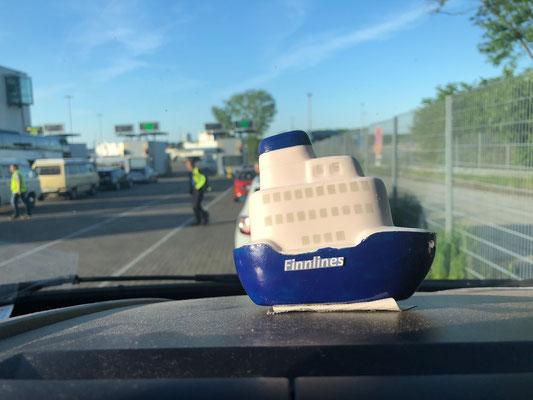 2019 - Endlich das passende Maskottchen für die Überfahrt