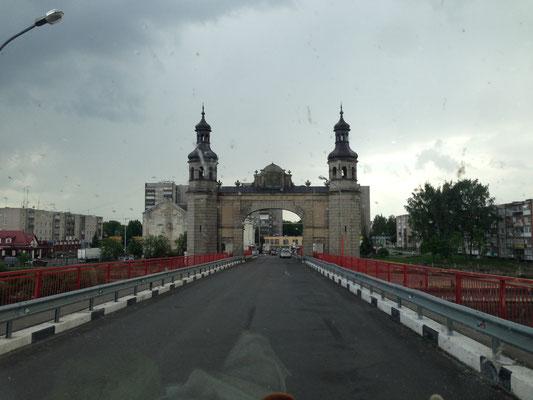 Grenzbrücke nach Sovetsk