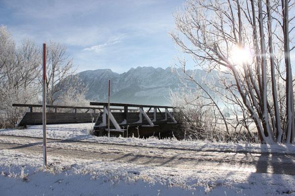 Bestes Wetter zum Winterspaziergang