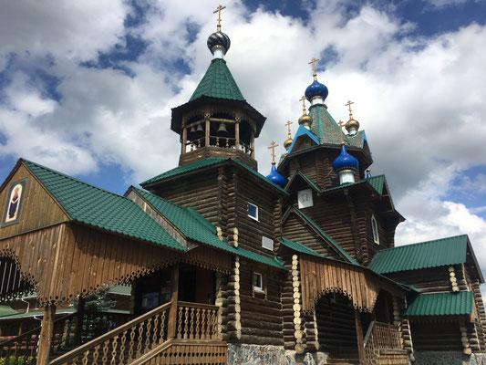 Holzkirche in Juschnouralsk