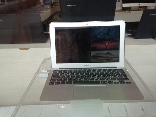 Da steht mein Laptop noch im Schaufenster, kurz drauf nicht mehr :-)