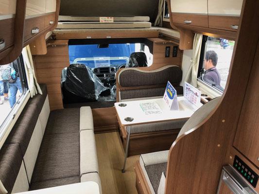 Odaiba Campingcar Fair 2019 - Wohn 9 DC von Towa Motors