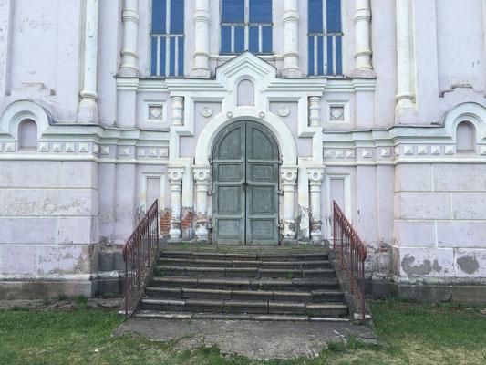 Besuch des Kazaner Frauenklosters (2016 nur von außen zu besichtigen)