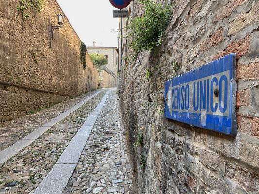 Spaziergang durch Castell'Arquato