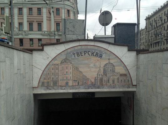 Metroausgang Twerskaja