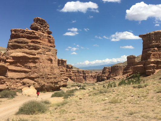 Felsformationen im Sharyn Canyon