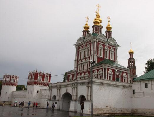 Christi-Verklärungs-Torkirche - der Eingang zum Kloster