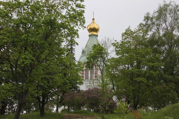 Kleine Kapelle auf einer Nachbarinsel