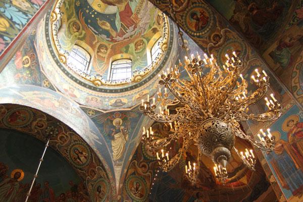 Die Blutskirche in Sankt Petersburg (2014)