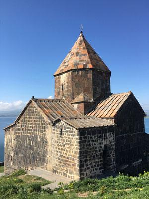 Kloster Sewanawank am Nordufer des Sewan Sees