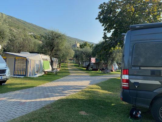 Übernachtung auf Camping Pai Da Maria