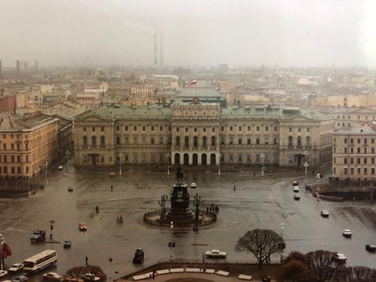 Die Sankt Isaaks Kathedrale in Sankt Petersburg (1995)
