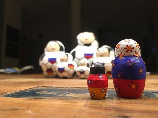 Matroschka Sonderedition zur WM 2018