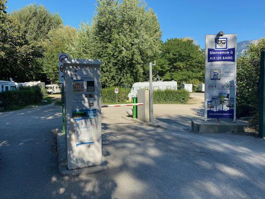 Wohnmobilstellplatz in Aix-les-Bains