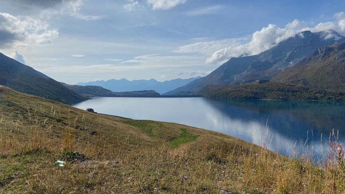 Blick auf den Lac du Mont Cenis
