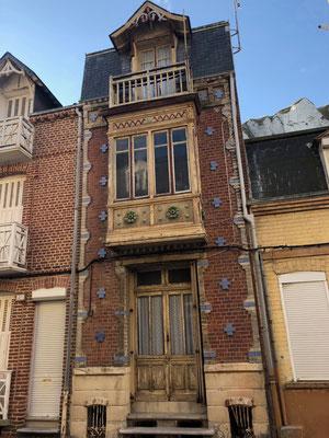 Hübsche Häuser in Le Tréport