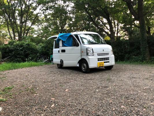 Campingplatz Arinomi En - unser Stellplatz