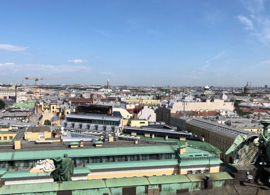 Die Sankt Isaaks Kathedrale in Sankt Petersburg (2018)