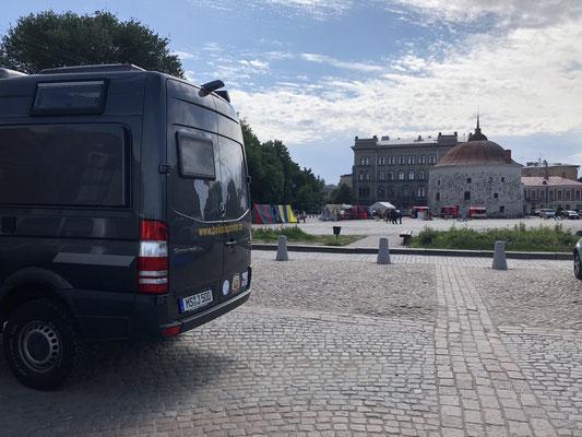 2018 - Parkplatz im Zentrum