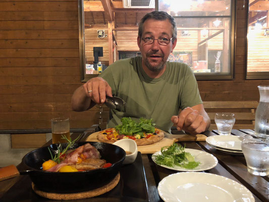 Abendessen im verdure ricco