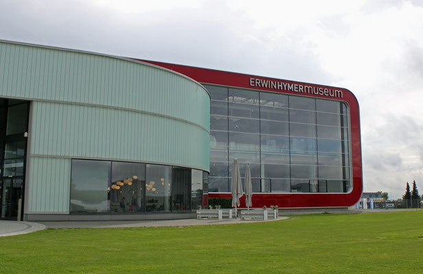 Gebäude des Erwin Hymer Museums