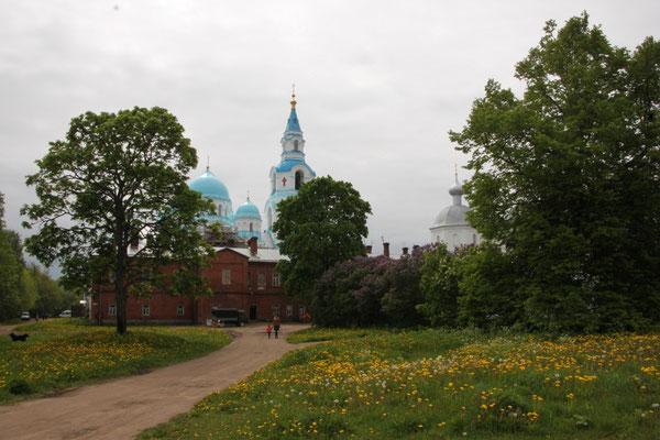 Blick über die Klosteranlage