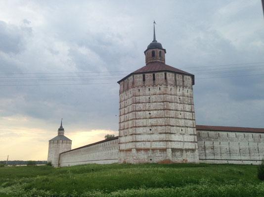 Die Klosteranlage Kirillo-Beloserski-Kloster, gegründet Ende des 14. Jahrhunderts von Mönch Kirill