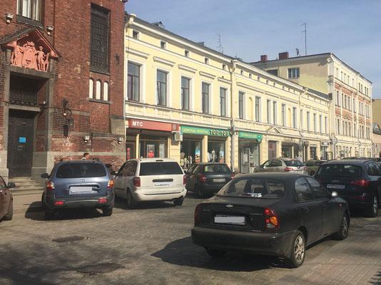 2016 - Der MTS Shop liegt direkt neben dem roten Backsteingebäude