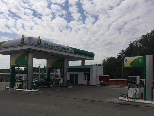 BP heißt hier übrigens Bischkek Petrol und nicht British Petroleum