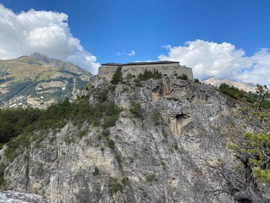 Blick auf das Fort Victor-Emmanuel