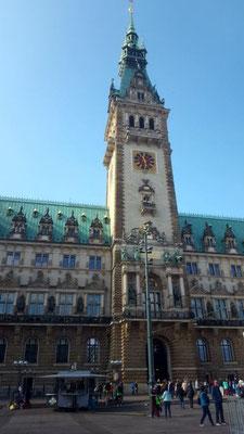 Das Rathaus - ein wunderschönes Gebäude