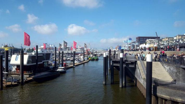 Ausblick Hafen