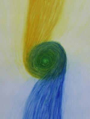 "Aquarell ""Kindlibrunnen"" Arlesheim - Thomas Frei"