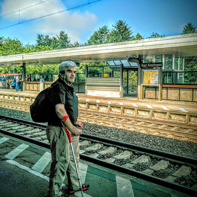 Mein Fussweg von der Breisgau-Klink zum Bahnhof am 5.8.2015_Abfahrt= 10-30-Uhr