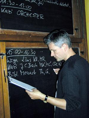 2008 – Organisation der Kammermusik im Waldschlösschen