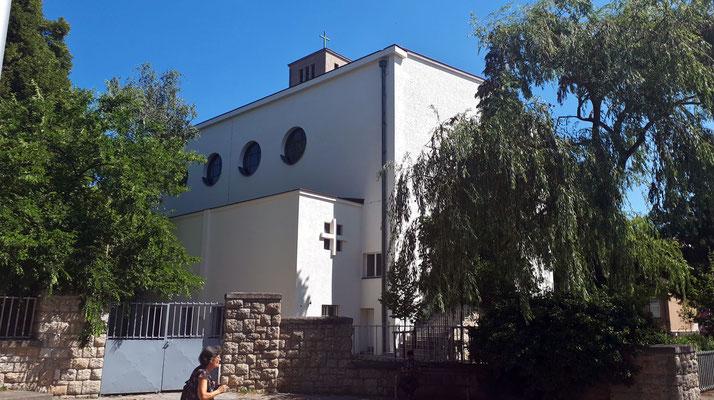 1.August: Das Gerüst beim Jungscharheim ist entfernt.