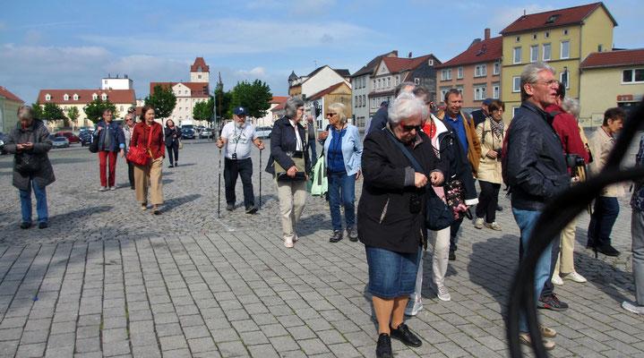 Samstag: Rundgang durch die historische Altstadt von Mühlhausen