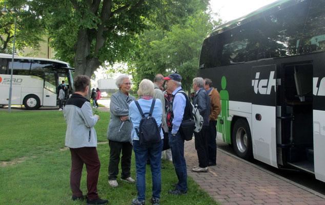 Sonntag: Abfahrt von Gotha nach Karlsbad