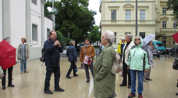 Dienstag: Rundgang durch die Bregenzer Unterstadt