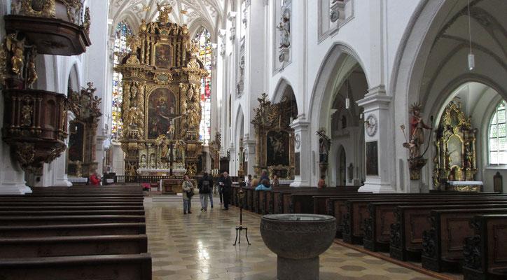 Montag: Kirche in Landsberg am Lech.