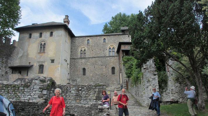 Mittwoch: Castello Visconteo in Locarno am Lago Maggiore