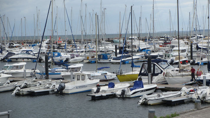 Freitag: Yachthafen im Seebad Kühlungsborn.