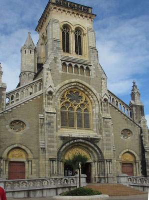 Freitag: Biarritz, Kirche Sainte-Eugénie