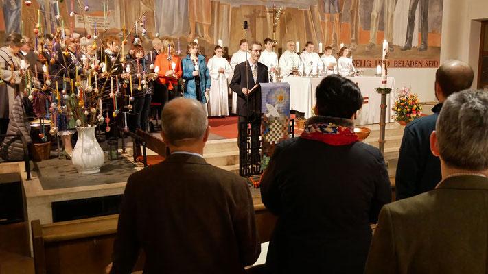 Auferstehungsfeier am Ostersonntag  um 5:00 Früh, Fürbitten