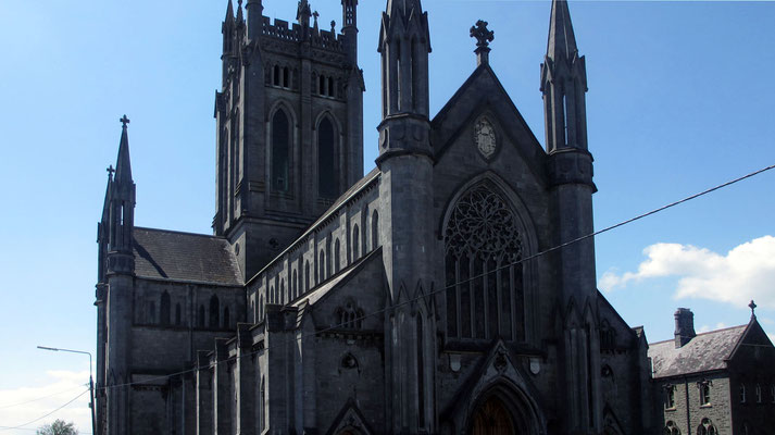Samstag: St. Mary's Cathedrale in Kilkenny.