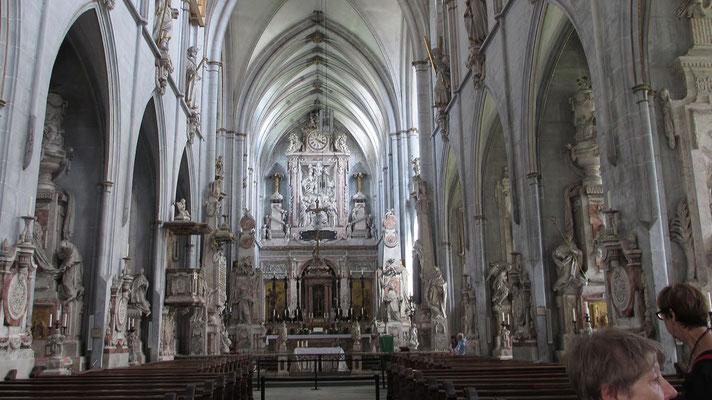 Samstag: Klosterkirche von Salem (innen).