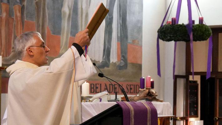 Zweiter Adventsonntag, Evangelium.