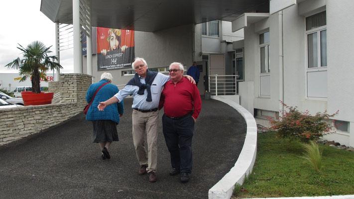 Samstag: Pau, Abfahrt vom Hotel (1 von 2)