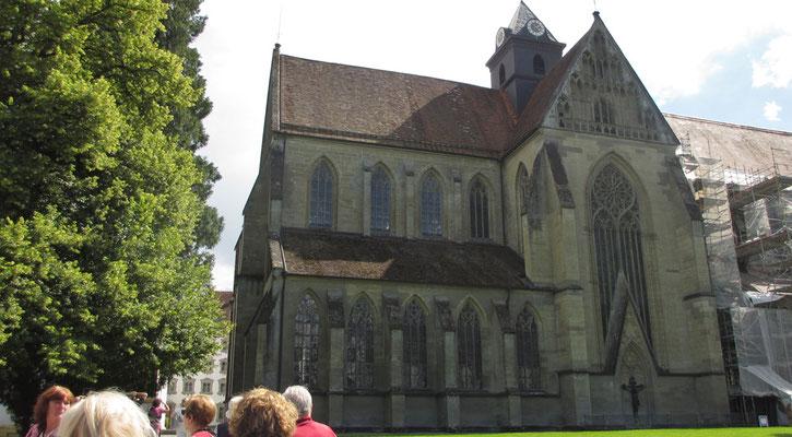 Samstag: Klosterkirche von Salem.